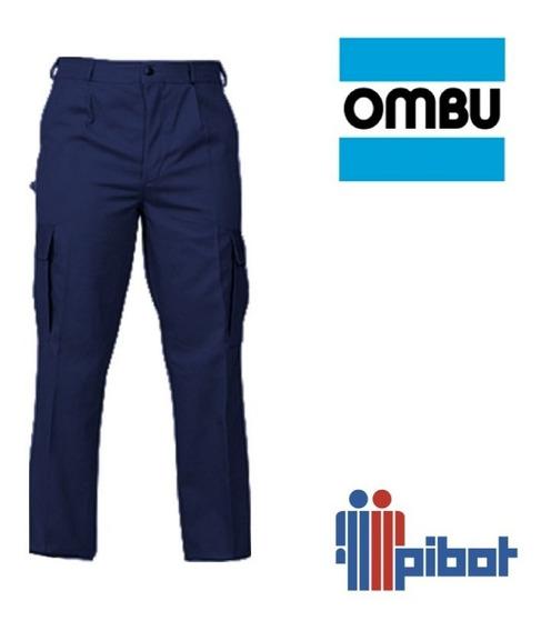 Pantalon De Trabajo Ombu Cargo Hombre Talle Especial 62 A 68