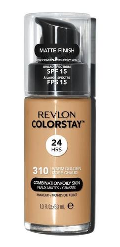Imagen 1 de 3 de Base Liquida Revlon Colorstay Warm Gold