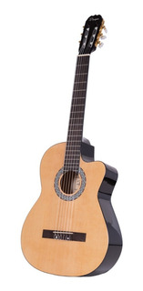 Guitarra Clasica Criolla Parquer Custom Corte Natural