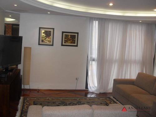 Apartamento À Venda, 126 M² Por R$ 550.000,00 - Centro - São Bernardo Do Campo/sp - Ap0213