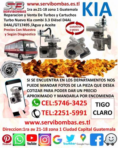 Imagen 1 de 4 de Reparacion De Kia Combi Turbo Diesel 3.3 D4al Guatem