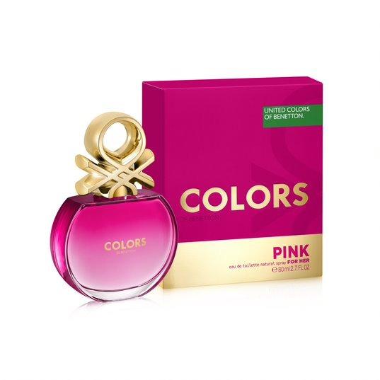 Perfume Feminino Benetton Colors Pink 80ml