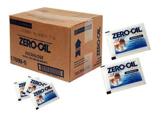 Adocante Zero Cal Sache Aspartame Sucralose Com 2000