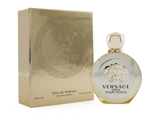 Imagen 1 de 1 de Perfume Eros Pour Femme De Versace Edp 100ml Nuevo
