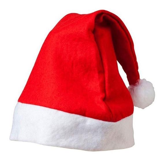 Gorro Navideño Santa Claus Rojo Árbol Fiesta Navidad Posadas