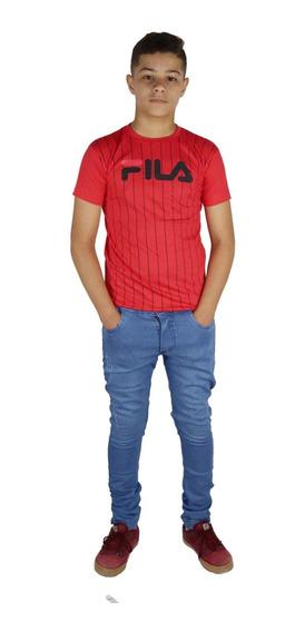 Kit 4 Calça Jeans Masculina Infantil Meninos 2 Ao 16 Anos