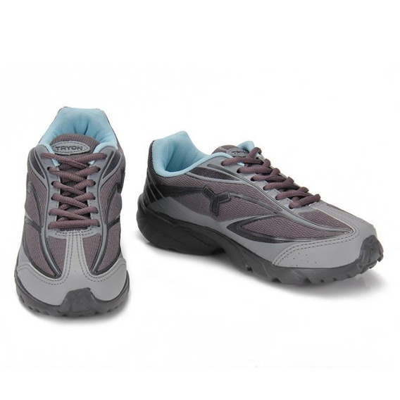 Tênis Running Tryon Symbol W - Cinza - Delabela Calçados