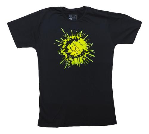 Imagem 1 de 1 de Camiseta Clube Comix Marvel Logo Hulk