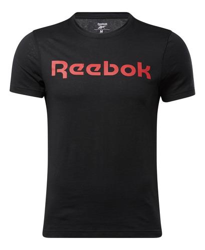 Camiseta Para Hombre Reebok Gs Reebok Linear Re