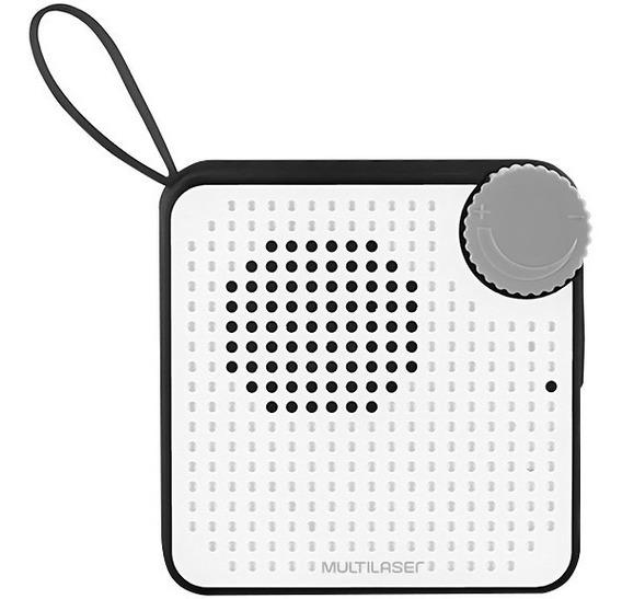 Caixa Som Bluetooth Multilaser Sp309 Resistente A Água Ipx4