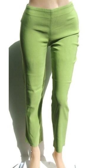 Zara Pantalon Eur34 Usa2 Mex24 Elastizado Verde (ana.mar)