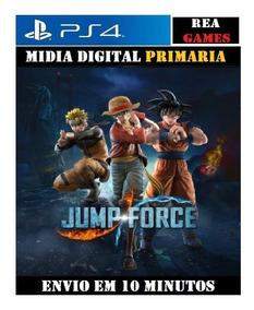 Jump Force Ps4 1 - Original 1- Vitalício