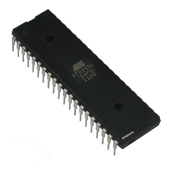 At89s51-24pu Microcontrolador 8051 Atmel Flash