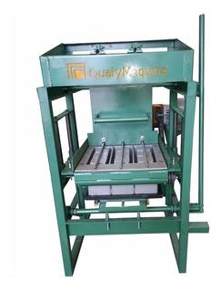 Máquina De Fabricar Blocos De Concreto, Até 4.000 Blocos Dia