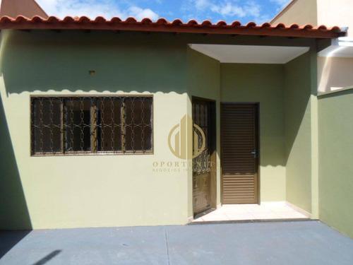 Imagem 1 de 13 de Casa 2 Dormitórios À Venda, Parque São Sebastião, Ribeirão Preto. - Ca0573