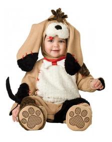 Macacão Bebê Bichinho Cachorro Peluciado-fantasia-parmalat