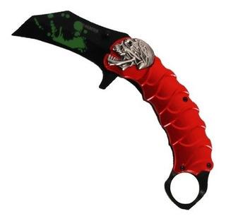 Canivete Karambit Kantas - Cs Go - Vermelho