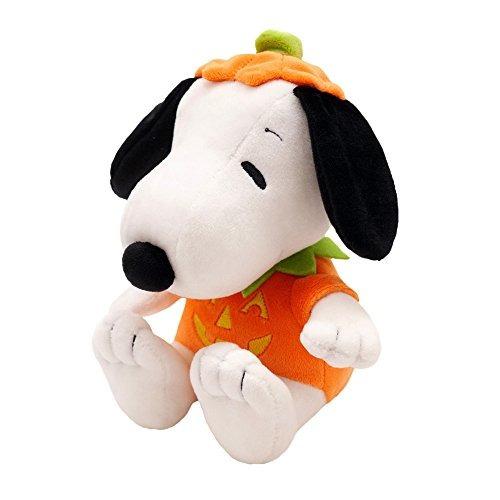 Sello Tarjeta De Peluche Snoopy En Disfraz De Calabaza Hall
