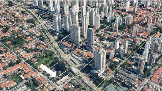 Terreno À Venda, 1178 M² Por R$ 5.700.000 - Campo Belo - São Paulo/sp - Te0730