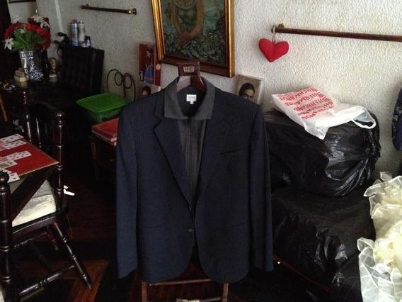 Giorgio Armani Blazer Armani Chamarra 100%wool Made In Italy