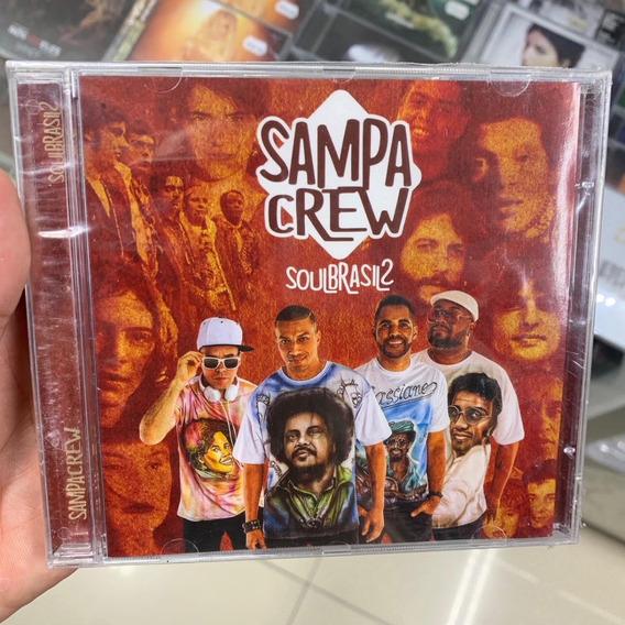 Sampa Crew - Soul Brasil 2 (cd) Rap Nacional Lacrado