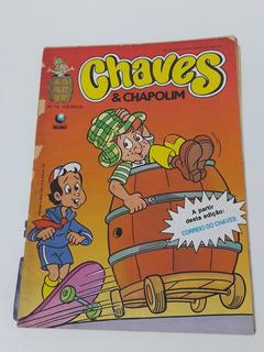 Gibi Chaves & Chapolim Nº 12 - Editora Globo 1991 Edit Globo