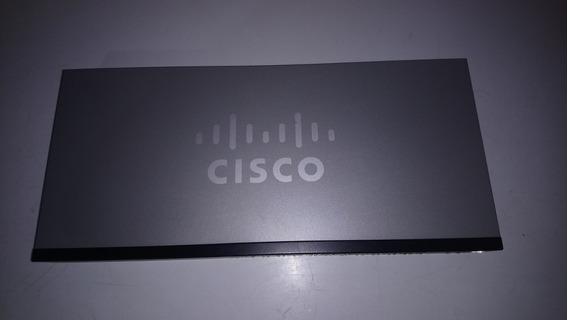 Switch Cisco Sf102-24 + 2 Puertos Gibabit Y 2 Mini Gbic.
