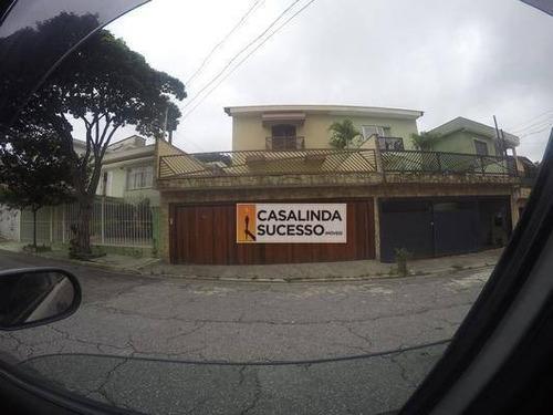 Casa Com 3 Dormitórios À Venda, 282 M² Por R$ 850.000,00 - Vila Euthalia - São Paulo/sp - Ca6210