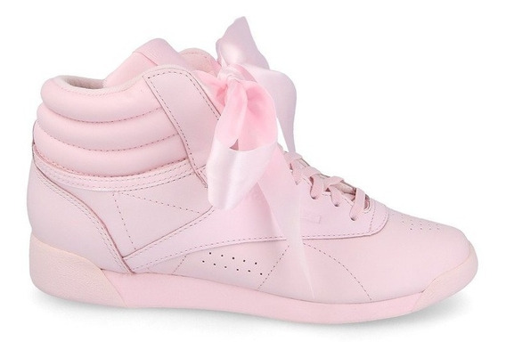 Tênis Reebok Freestyle Hi Satin Bow - Casual