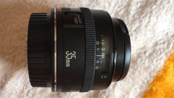 Lente 35mm F2 Canon Ef Sem Is
