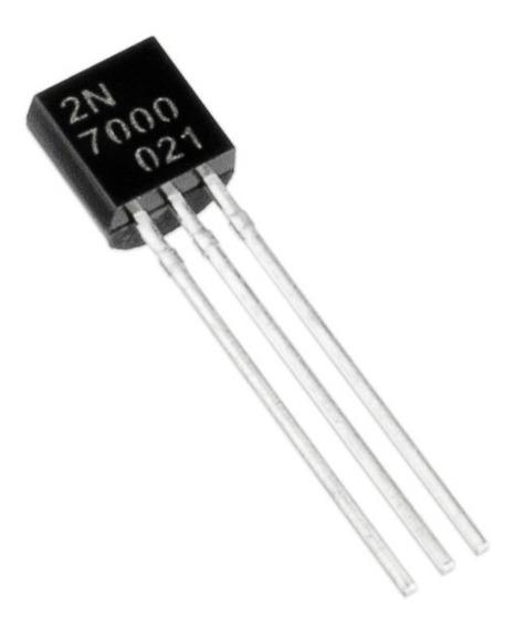 5x Transistor Mosfet 2n7000 To92 2n 7000 Ptec