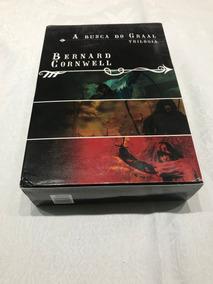 Livro Trilogia A Busca Do Graal 3 Livros - Bernard Cornwel