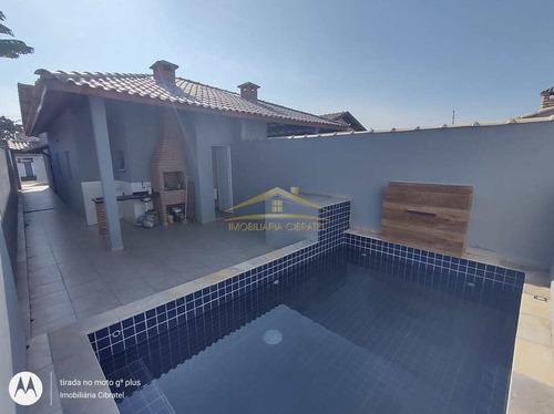 Imagem 1 de 14 de Casa Com 2 Dorms, Santa Júlia, Itanhaém - R$ 295 Mil, Cod: 1414 - V1414