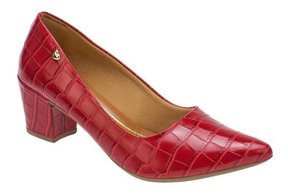 Sapato Scarpin Confort Salto Baixo Grosso | S02a3.scp