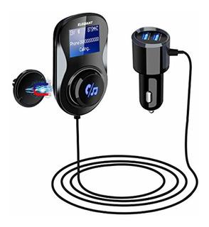Elegiant Transmisor Fm Bluetooth, De Radio