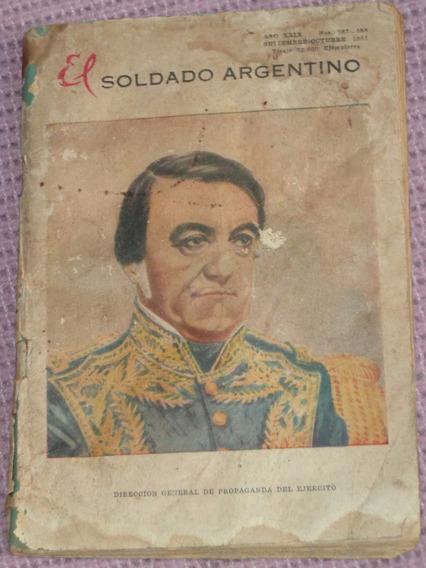El Soldado Argentino N° 587 - 588 1951 Ejercito Argentino