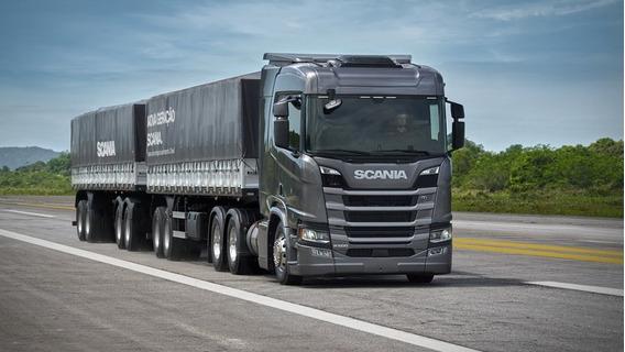 Scania R500 Teto Alto Gabinada Rodotrem Bitrem 2019