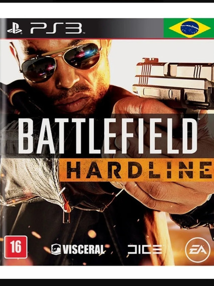 Battlefield Hardline Ps3 + 10 Jogos Mídia Digital Psn