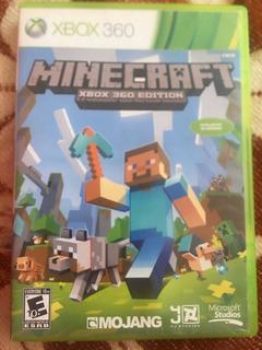 Videojuegos De Xbox 360 Minecraft Original. 1-4 Jugadores.