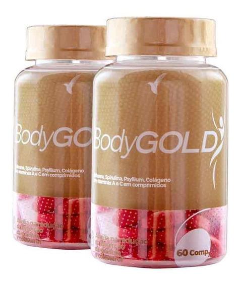 Bodygold Composto Emagrecedor Eleve Tratamento 1 Mês