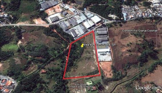 Área Em Jardim Belizário, Cotia/sp De 0m² À Venda Por R$ 4.375.000,00 - Ar122024