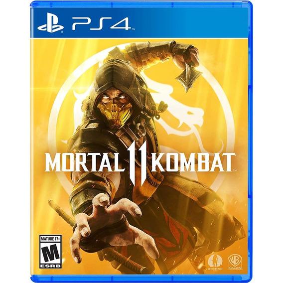 Mortal Kombat 11 - Ps4 Lacrado
