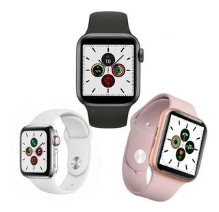 Smartwatch Relógio Inteligente Iwo 44mm Serie 5 + Brinde