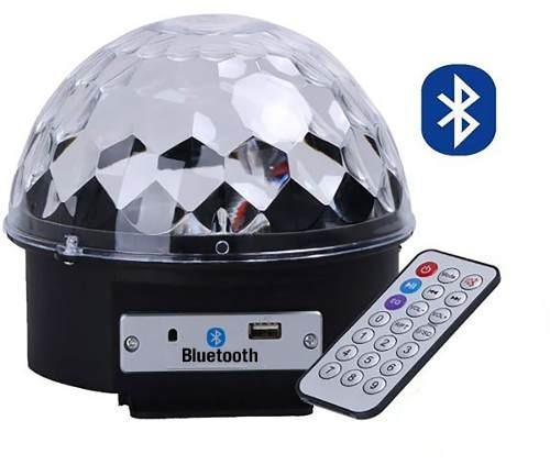 Kit 10 Bola Maluca Globo Luz Led Bluetooth Caixa Som 65158
