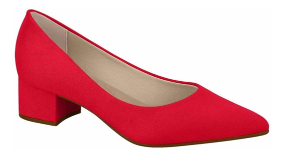 Zapatos Mujer Stilettos Gamuza Taco Bajo Ancho 4182.100