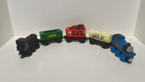 Thomas E Friends Douglas Reciclyng Cars Milk Thomas Kit21