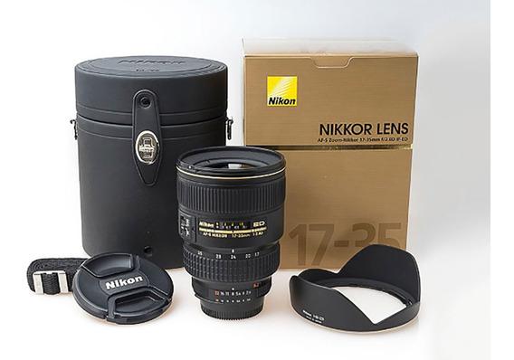 Lente Nikon 17-35mm F/2.8d - Ún. Dono-uma Das Melhores Nikon