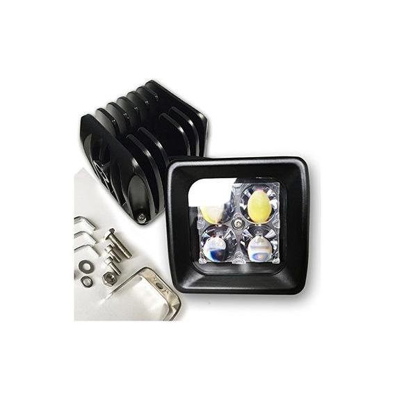 Tjgd 12w 4d Lens Led Pods Luz De Trabajo De Inundación 12v I