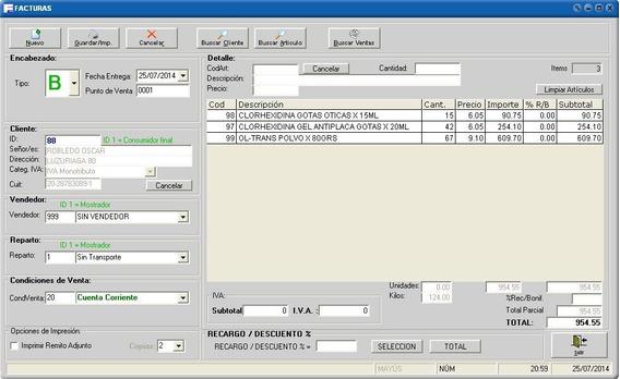 Software Factura Electrónica Software Facturación Programa