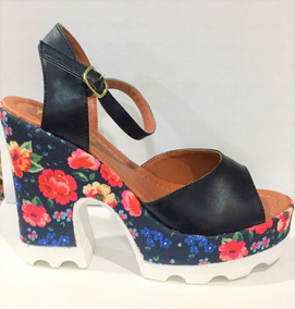 418e2206b9 Sandalia Florida Tratorada Floral Flores - Sapatos no Mercado Livre ...